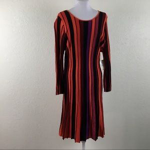 ECI New York Knit Long Sleeve Dress